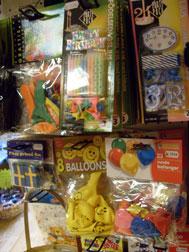 Ballonger och fest